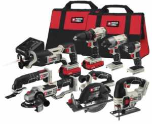 Renting tools - Porter cable combo kit