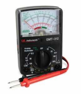 Tips to finding the best multimeter - analog multimeter