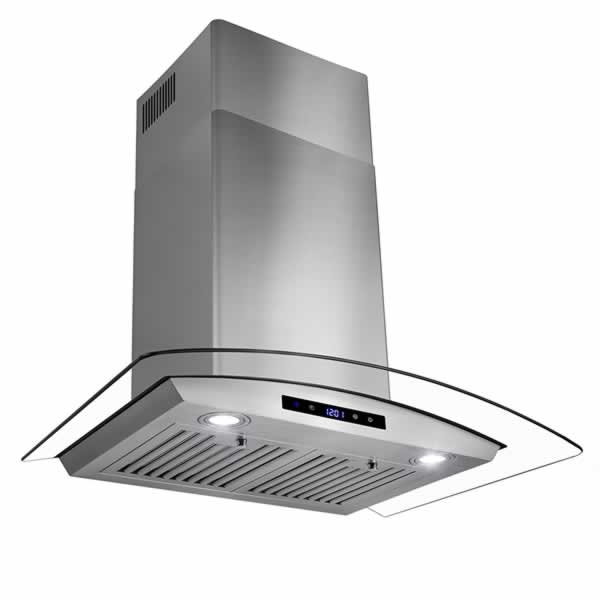 Common range hood installation mistakes - led display touch control
