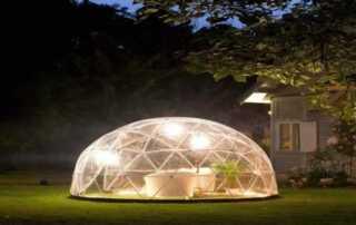 Garden conservatory - lighting