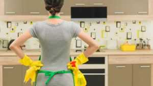How to keep your home clean - cleaning the kitchen
