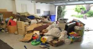 Is it better to call a junk removal company or rent a dumpster - junk in the garage