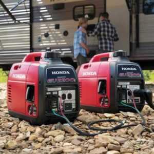 Power generator buying guide - paired Honda EU2200i power generator