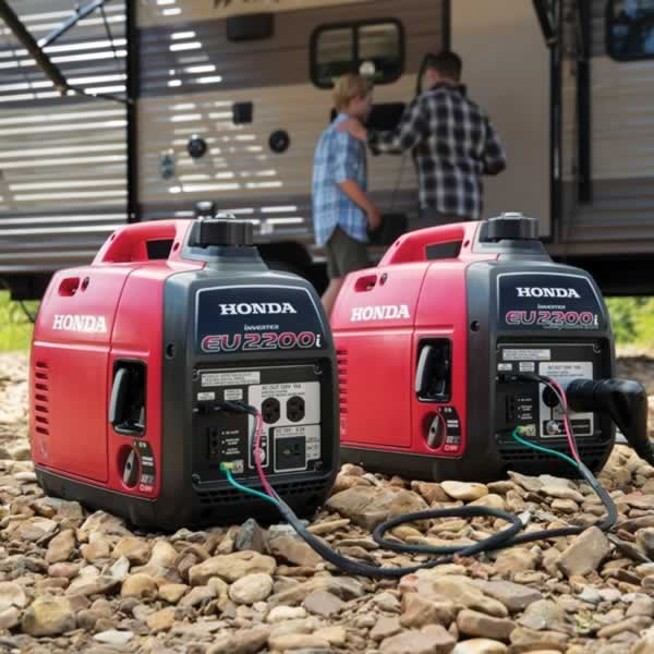 Power generator buying guide - paired Honda EU2200i power generator