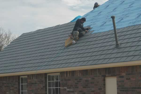 Roof fixing tips - partial reroofing