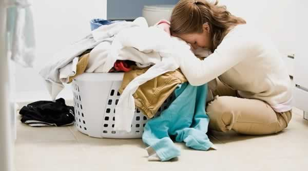 Small tips to keeping your home clean - dirty laundry