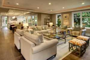 Things to consider when choosing the home floor plan - living area