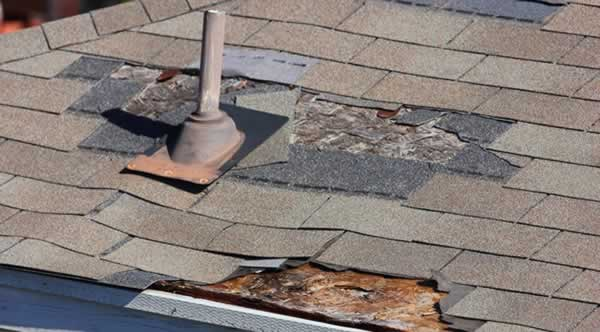 When it's time to replace your roof - damaged shingles