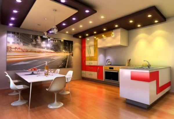 Handy tips in designing your kitchen interior - kitchen ceiling