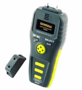 How to measure wood moisture content - resistance moisture meter