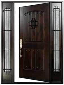 Things you should consider when choosing your house's front door - beautiful front door
