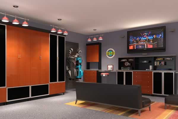 What you can do to make your garage look better - garage with furniture