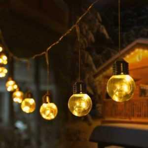 Battery powered string lights - LED string lights