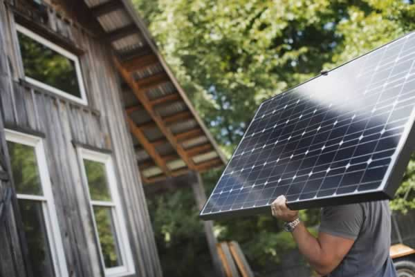Electrical Upgrades You Can do Yourself - installing solar panels