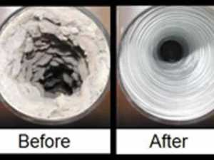 Why you need to keep your dryer vents cleaned - before and after