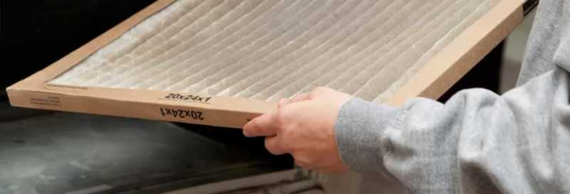 Benefits of changing AC air filter in your home - dirty filter