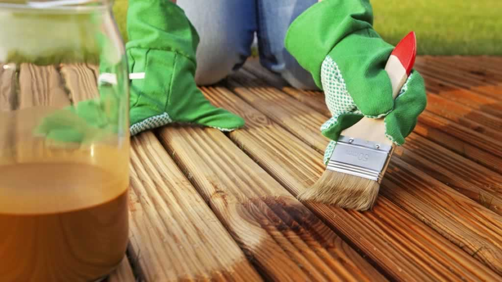 Deck stain Vs Deck Paint - painting