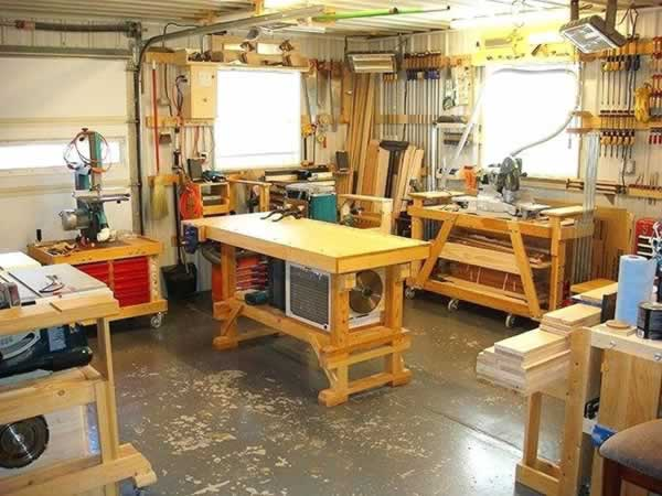 Easy ways to go from a zero to a hero woodworker - beautiful workshop