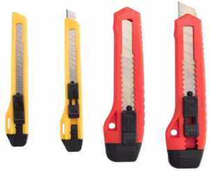 Essential handyman tools - utility knife