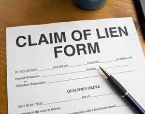 How to file a mechanic's lien in California - form