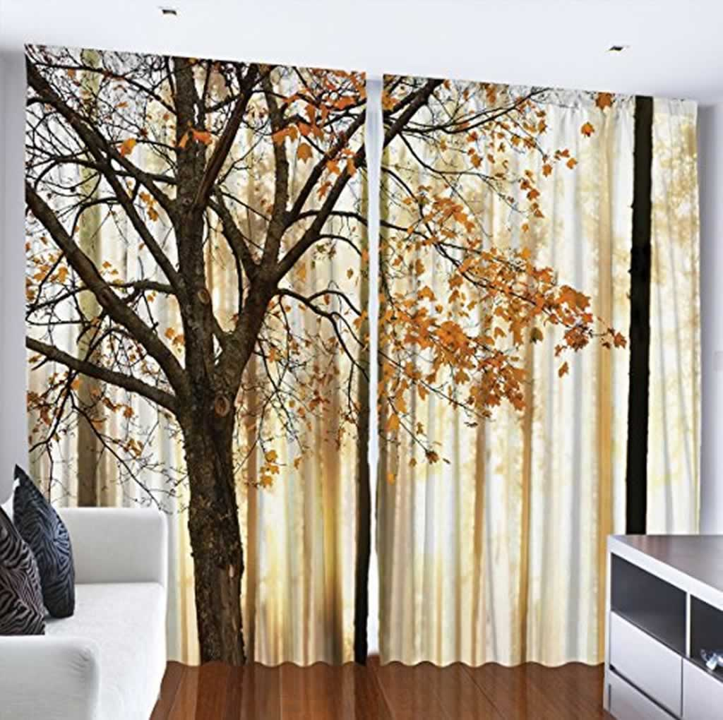How to select curtains for your interior design - ambesonne curtains