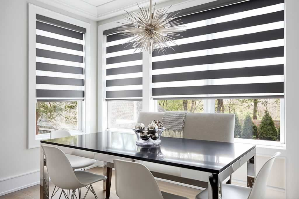Things to look for when buying new blinds - dinning room