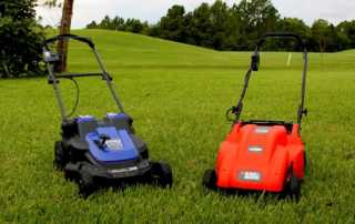 Environment-friendly electric mowers - pros and cons - mowers