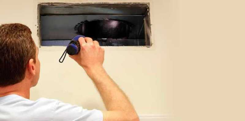 How air duct cleaning services improve your home - inspecting ducts