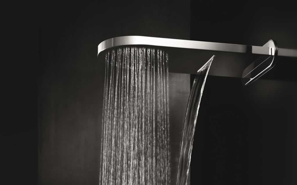 The different types of shower heads and which works for you - wall mount shower head