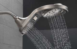 The top 4 types of showers to choose from - double head shower