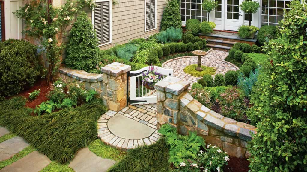 Tips to keeping up with your home and garden - beautiful garden
