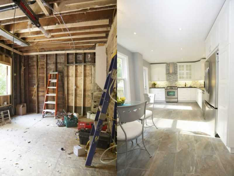 Renovation tips to your home- before and after