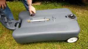Tips for looking a portable septic tank - using the tank