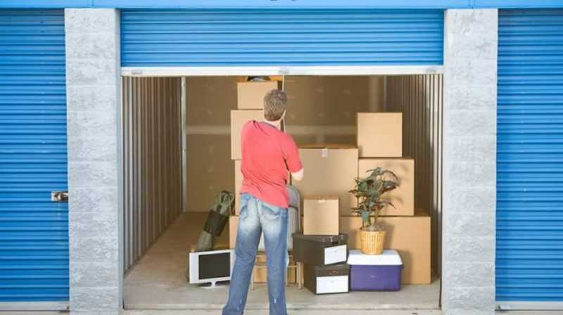 Types of storage facilities - self storage unit