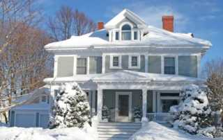 5 tips to preparing for cold weather - house under the snow