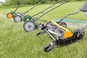 Best reel mower for tall grass - different mowers