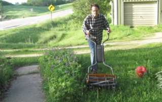 Best reel mower for tall grass - mowing tall grass