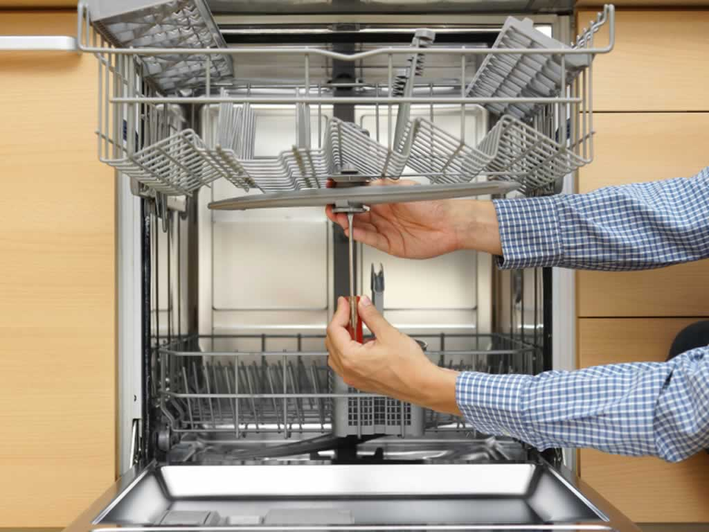 Dishwasher repair tips - disassembly