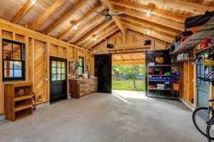 Garage maintenance prevents costly repairs - rustic garage