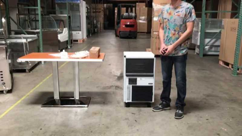 Handyman and portable ice makers - commercial ice maker