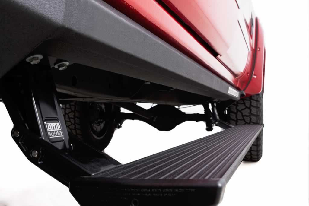How to install running boards on your car - under the car