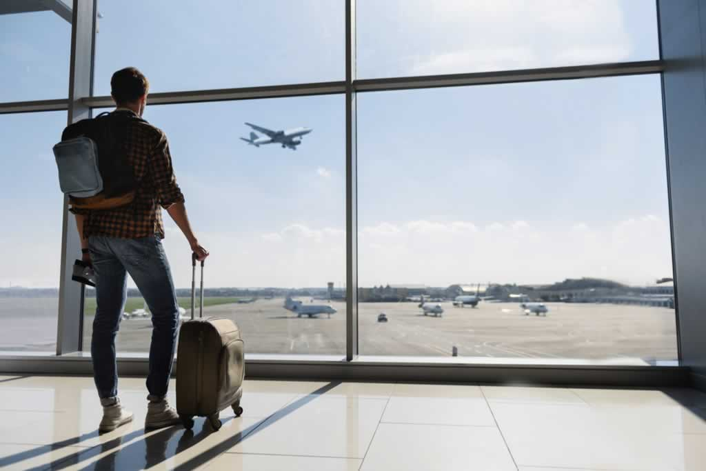 Protecting your home while you're on holyday - airport