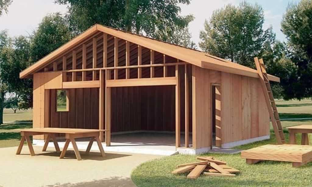 Reasons to build your own garage - double garage
