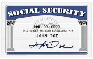 The easiest way to replace a social security card - social security card