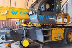 Vehicle lettering - machinery