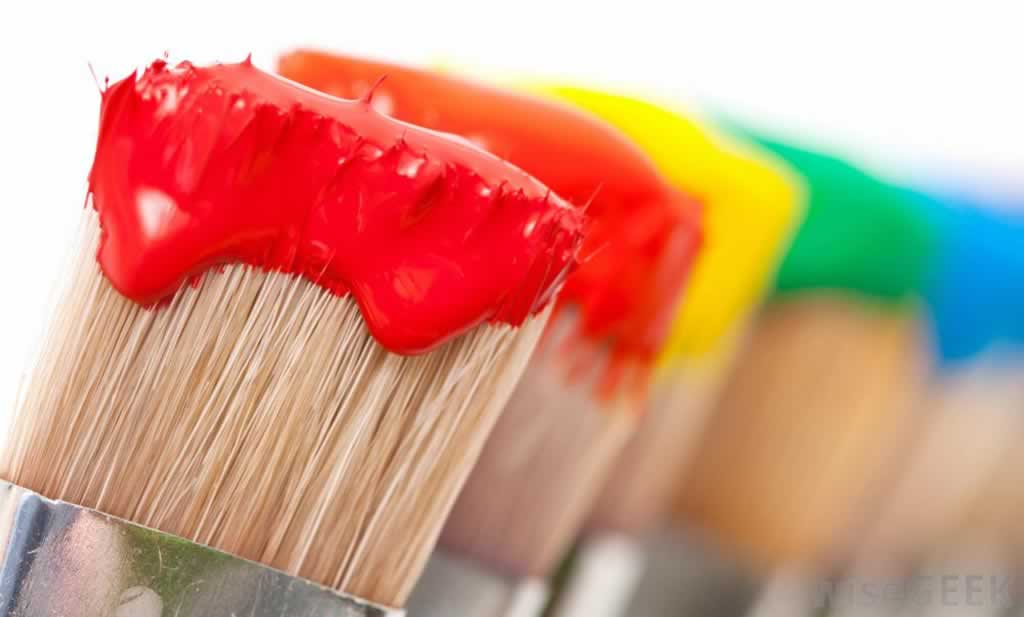 What is the difference between acrylic and latex paint - brushes