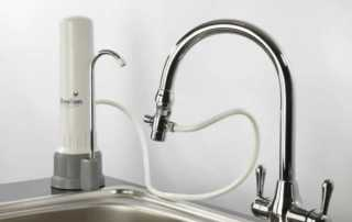 Benefits to adding a filter in your kitchen - countertop filter