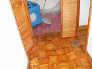Consequences of delaying water damage repairs - floor problems