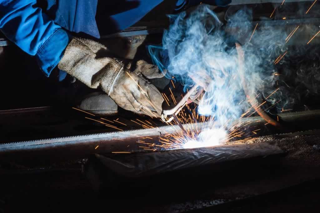The different types of welding and their applications - stick welding