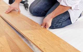 Top reasons why you need to use laminate floors - mounting laminate floor